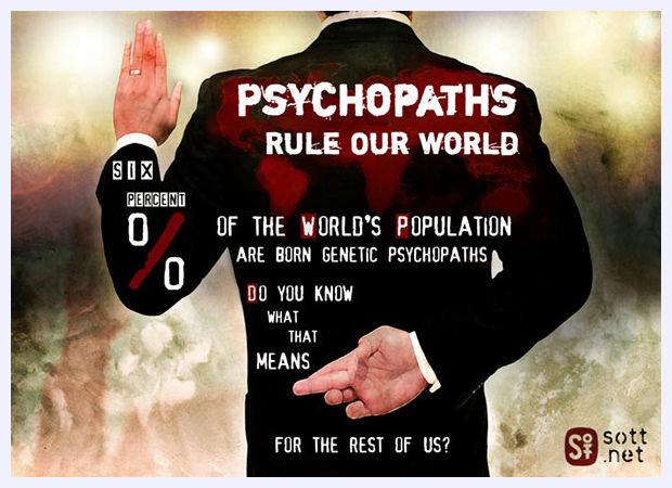 Что представляет из себя психопат? -- Sott.net