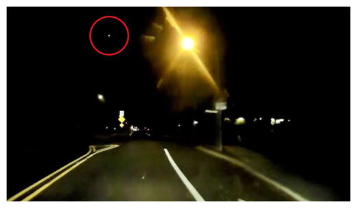 Meteor Over Eastern US