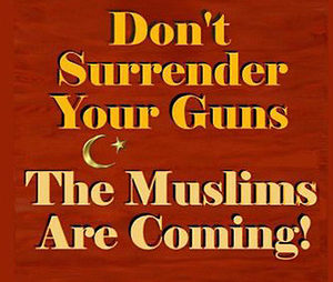 Give up guns muslims