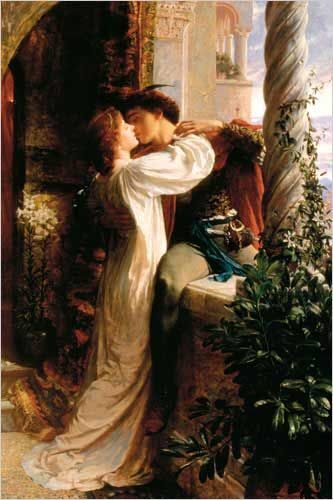 Romeo and Juliet by Sir Frank Dicksee (19th Century)
