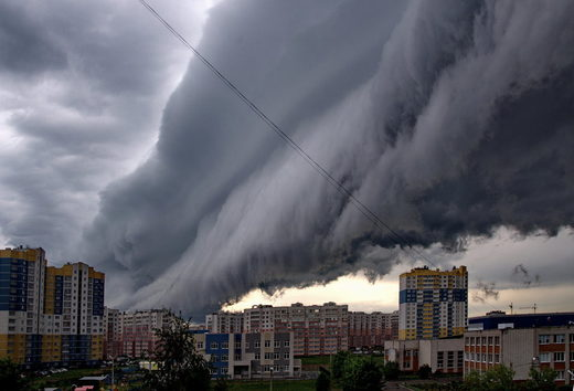 Scary cloud