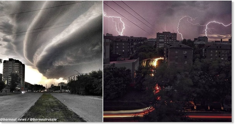 Ураган оставил без света запад Грузии