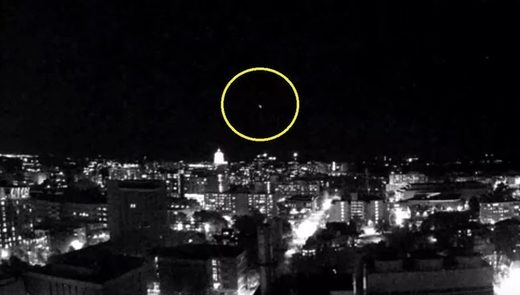 Fireball over Madison, WI