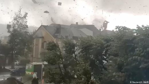 Luxembourg tornado